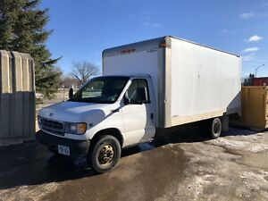 Ford e350 cube can 16' DIESEL
