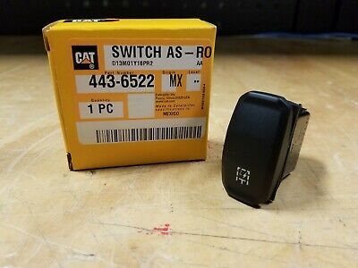 Caterpillar Cat 906 907 908 Wheel Loader Boosted Aux Flow Switch - 443-6522