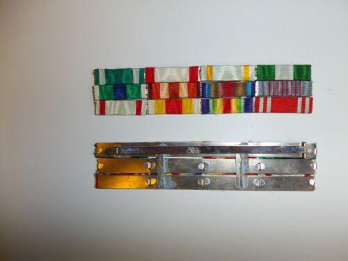 e3682 WW2 Japan Japanese 12 Place Ribbon bar high rank general admiral R17D