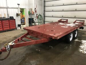Trailer plate-forme