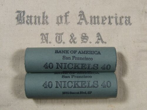 (ONE) BoA SF Buffalo Nickel Roll 40 Coins - 1913 1938 P D S