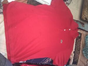 2 med Lacoste polo t shirt