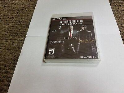 Ultimate Stealth Triple Pack Sony PlayStation 3, 2015 ps3 thief dues hitman ps3 comprar usado  Enviando para Brazil