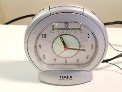 TIMEX AM/FM Analog Style Alarm Clock Radio w/ Dimmer Switch