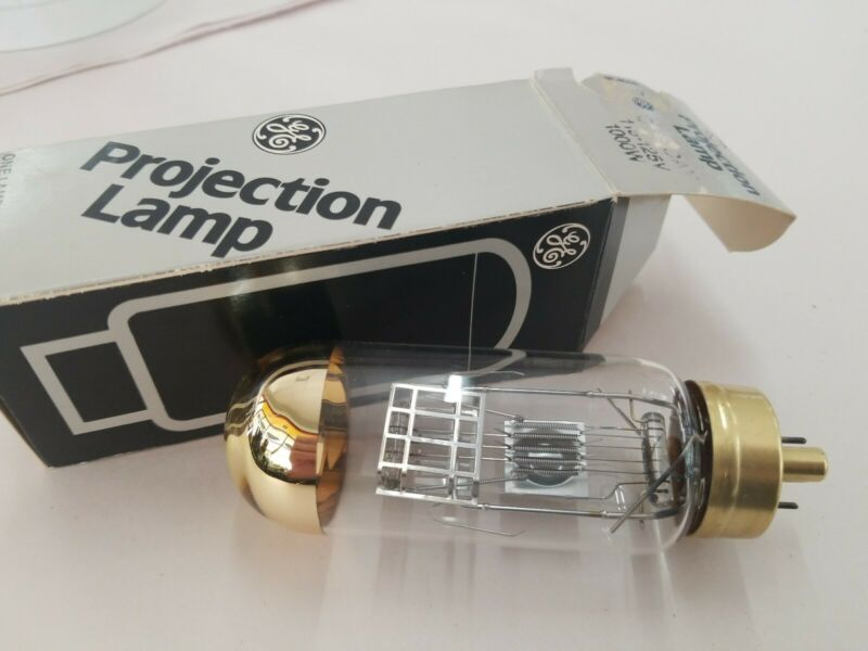 GE CTT DAX Projector Projection Lamp 1000W 115-125V New Old Stock