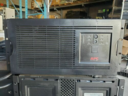 APC Smart-UPS 5000 SUA5000RMT5U, 208V - Good Batteries  Local Pickup Only!