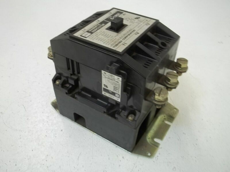 TOSHIBA  CORP. C-180E MAGNETIC CONTACTOR 115-120V SIZE 4+*USED*