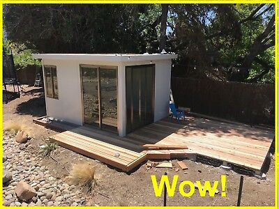 tiny house shed insulated and Finished inside!  Electricity