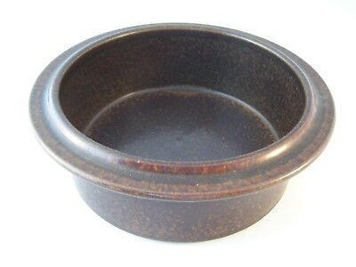 Vintage Arabia Finland Pottery Ruska Ulla Procope Round Vegetable Serving Bowl B