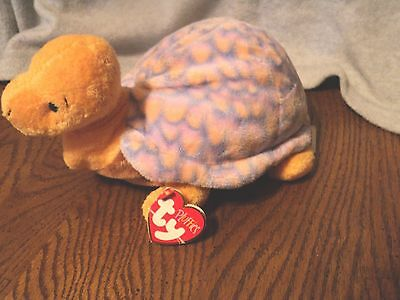 TY Pluffies Cruiser Turtle plush with tag retired