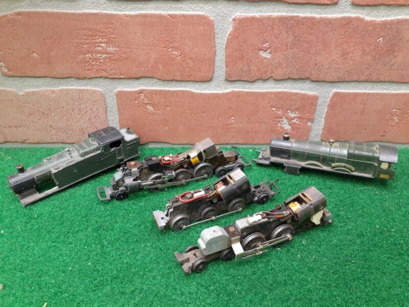 Triang Railways TT Gauge Locomotive Bodies & Chassis Lot