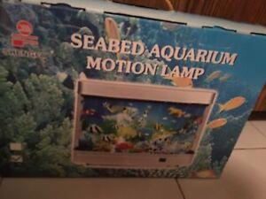 Kids motion lamp aquarium