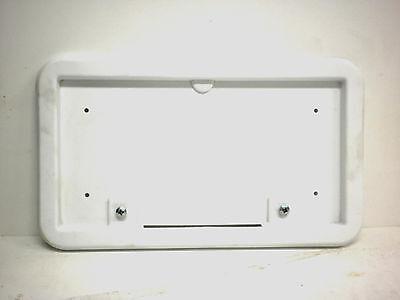 Trailer license plate bracket Holder + light J-LFB-L (White)