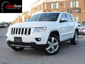 2011 Jeep Grand Cherokee 5.7L V8 Overland Navi-Pano Roof-Blind S