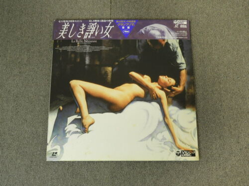 La Belle Noiseuse - Laser Disc - OBI JAPAN LD 2disc