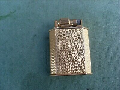 vintage McMurdo gold coloured machined lighter