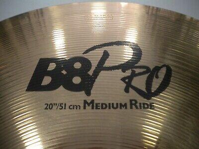 """Sabian B 8 Pro Medium Ride 20""""/51 cm, usado comprar usado  Enviando para Brazil"""