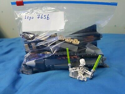 Lego Star Wars 7656 Grevious Starfighter ** Set Only , No Box Or Manuals**