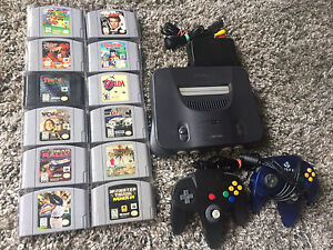 N64 + Controller and Games