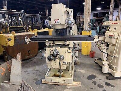 15 X 68 Vertical Milling Machine Kt Kearney Trecker Model 310 S-15 Milwaukee
