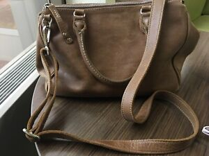 Roots Tribe Collection Grace Leather Bag