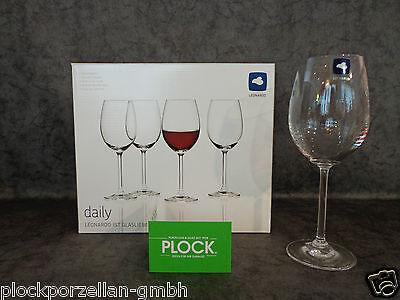 LEONARDO Glas DAILY Rotweinglas Rotweingläser Weingläser Gläserset 6er Set NEU