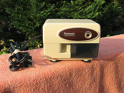 Vintage Panasonic Kp-310 Auto-stop Electric Desktop Pencil Sharpener
