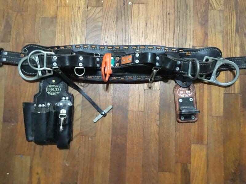 Electrical Lineman Climbing Gear Complete Setup