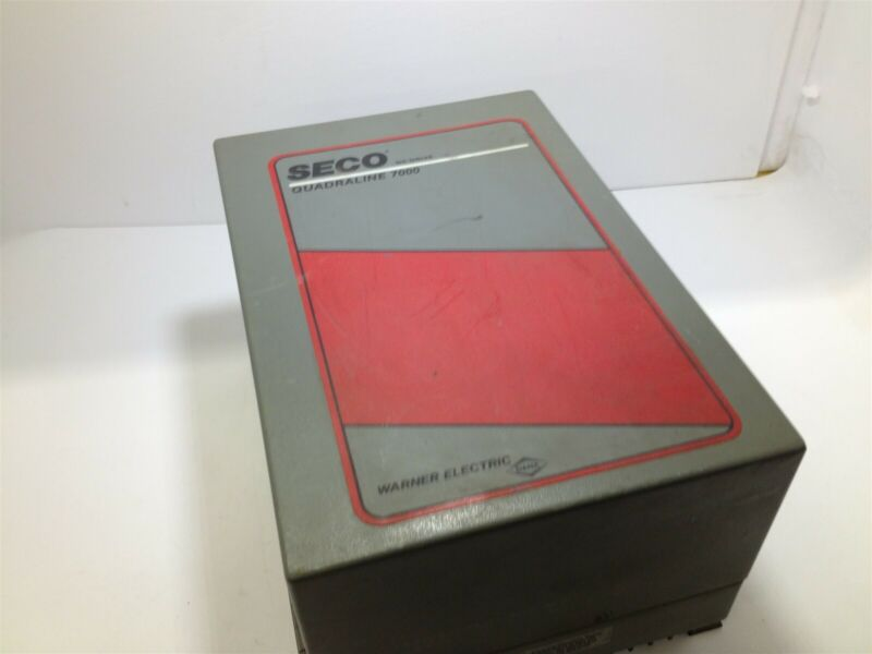 Seco Quadraline 7000 Q7000 Dc Drive
