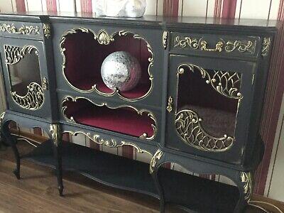 Beautiful Antique Victorian sideboard display cabinet circa 1880