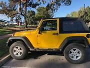 JEEP WRANGLER JK SPORTS, CASH OR SWAP FOR BOAT UP TO VALUE Moonta Copper Coast Preview