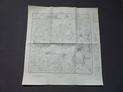 Landkarte Meßtischblatt 3439 Vieritz, Milow, Zollchow, Großwudicke, um 1945