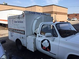 1989 gmc pto duct cleaning truck