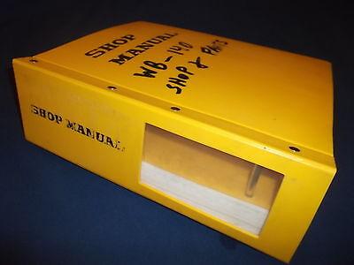 Komatsu Wb140ps-2n Wb150ps-2n Backhoe Loader Service Shop Repair Manual Book