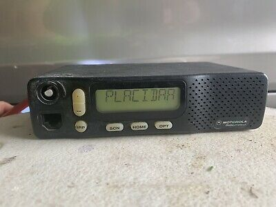 Motorola M44dgc95a2aa Two Way Mobile Truck Taxi Radio 2 Channel Transceiver