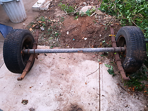 Trailer Axle Andrews Farm Playford Area Preview