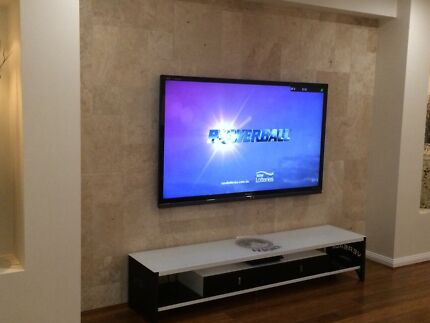 Classy TV installation. Television mounting to wall Cecil Hills Liverpool Area Preview