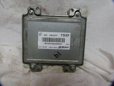2009-2013 09-13 Chevrolet Aveo G3 Engine Control Module Ecm Computer 12633377