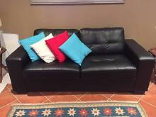 BLACK 2.5 SEATER SOFABED - 2 YEARS OLD Bondi Beach Eastern Suburbs Preview