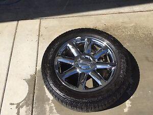 """20"""" Denali wheels."""