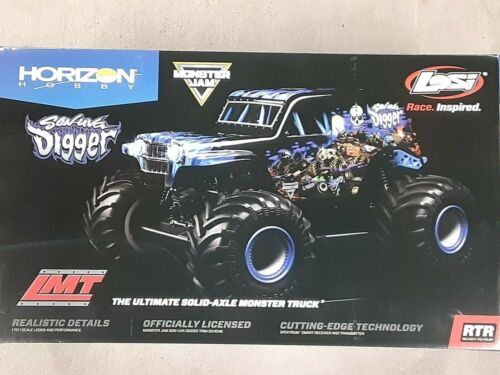 Losi LMT Son Uva Digger RTR 1/10 4WD Solid Axle Monster Truck w/DX3 2.4GHz Radio
