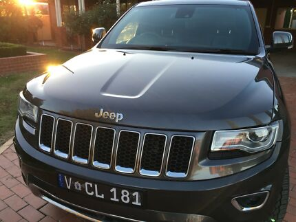 2013 Jeep Grand Cherokee Overland 3ltr Turbo Diesel - 8 Speed Auto