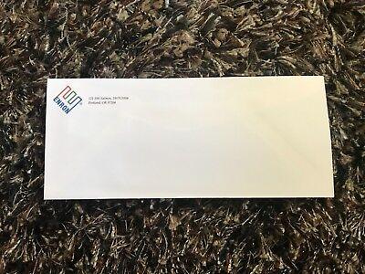 RARE Enron Authentic Business Mailing Envelope Portland, Oregon, USA!
