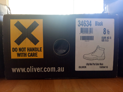 BNWT oliver Black Steelcaps
