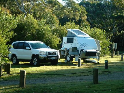 Exodus camper-trailer, off-road, hard top, fibreglass Wurtulla Maroochydore Area Preview