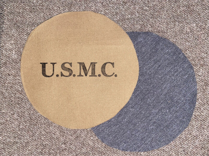 1878 USMC Spanish American War Canteen Cover Reproduction
