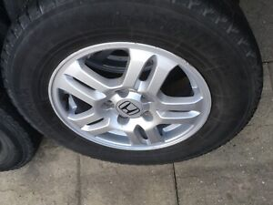 4 tire with mag 215/70/15 (5x114.3) Honda CR-V