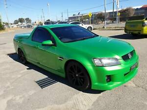 2008 Holden Commodore VE MY09.5 SS Green 6 Speed Manual Utility Welshpool Canning Area Preview