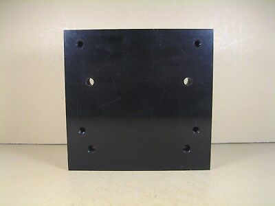 Optical Mounting Plate Solid Aluminum 5-18 L X 5 W X 1-14 Thk