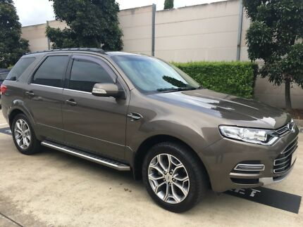 2012 Ford Territory TItanium RWD 7st SUV Kellyville The Hills District Preview